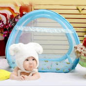 Inflatable Baby Mosquito Nets Baby Bed Mosquito Nets Portable Folding Mosquito Nets (to Send Inflatable Pump)