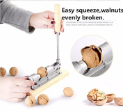 New mechanical sheller walnut nutcracker nut cracker fast Opener Kitchen Tools fruits and vegetables