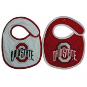 NCAA Ohio State Buckeyes Infant Bib 2-Piece by Game Day Outfitters