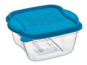 Freezer, microwave Containers Plastic Container, Square, Lt 0.5 Container with Lid, The Container for Freezer