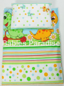 4 Piece Travel Set/Scatter Filled 17-18 Inner & Cover Dino Green