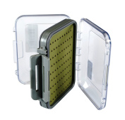 Medium-Premium Fly Box-Silicone Liner, Double-Sided, Waterproof