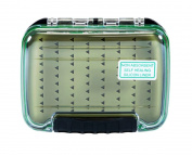 Premium Fly Box-Silicone Liner, Durable Poly Carbonate, Waterproof
