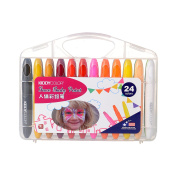Face Paint Marker Non-Toxic 24 Colours CONDA Professional Body Crayons Makeup