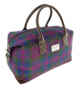 Authentic Harris Tweed Holdall Unisex Bag LB1006