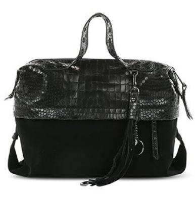 George Gina & Lucy Women's Bowling Bag black Black Croc