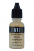 Tru Airbrush Makeup - Water and Mineral Glow -Gold, 15ml, Air-gg