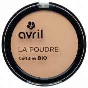 AVRIL - Compact Porcelain Powder - Does not Dry Skin - Certified Organic - Not Tested on Animals - 7g
