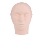 Pro Training Mannequin Flat Head Practise Make Up Eye Lashes Eyelash Extensions