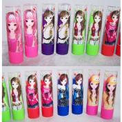 Cosmetics Magic Mood Changing Lipstick 6 Colours 12 Pc Lot