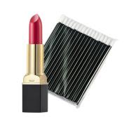 Lipstick, Hatop 12-Colour Lipstick Lip Gloss + One-Time 50pcs Black Lip Gloss Brush