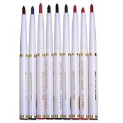 Professional Makeup 9 Colours Waterproof Eyeliner Pencil Long Lasting Eyebrow Pencil Set Lip Liner Pen Cosmetics Kits