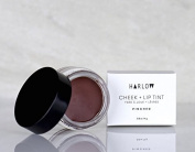Harlow Skin Co. Pinched Cheek Lip Tint Balm With Australian Red Reef Clay, Raw Cocoa Butter and Organic Beeswax, Natural Makeup Lip Kit, 15ml