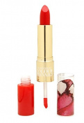 Nonie Creme Colour Prevails Classic Lip Duo Lipstick / Lip Gloss, 06 Orange Red