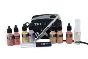 TRU Airbrush Cosmetics Makeup Kit with Lip Stain