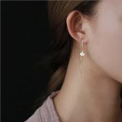 A & C Fashion Korean Version Alloy Ginkgo Leaves Earrings for Women. Unique Handmade Earrings Jewellery for Girl.