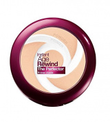 Maybelline New York Instant Age Rewind The Perfector Powder, Light, 10ml + FREE Scunci Black Roller Pins, 18 Pcs