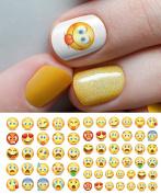 Emoji Nail Art Waterslide Decals - Salon Quality!