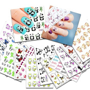 KADS New 26pcs/set Nail Art Transfer Sticker Beauty Nail Art Decal Decorations Tool