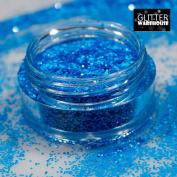 GlitterWarehouse .4MM Chunky Matte Neon Blue Cosmetic Grade Glitter