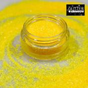 GlitterWarehouse .4MM Chunky Neon Matte Yellow Cosmetic Grade Glitter