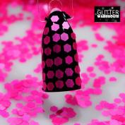 GlitterWarehouse Neon Hot Pink Chunky Matte Cosmetic Grade Glitter 2mm Size