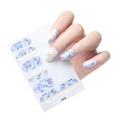 Nail Stickers Fullkang 12pcs New DIY Nail Wraps Patch Foils Art Decals Nail Art Decals