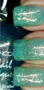 1Pc Wise Beauty Nail Polish Lacquer Effect Holographic Glitter Colours Chunky Holo Teal
