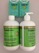 Be Natural Callus Eliminator 530ml & Dry Heel Eliminator 470ml + 2 Pumice Bar