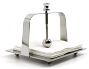 BaoHao 202 Stainless Steel Napkin Holder for Kitchen Countertops,Table,Home