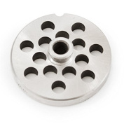 The Sausage Maker #10/12 Stainless Steel 1cm Grinder Plate with Hub