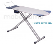 Mabel Home - Extra-Wide 8 Feature Ironing Board, with + Extra Cover