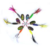 Zooshine Mini Fishing Hard Spinner Lure Spinnerbait Pike Bass