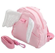 Angel Childrens backpack rein safety harness toddler kids[Pink]