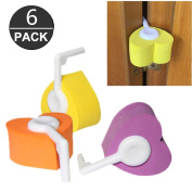 Pack of 6 Baby Kids Proofing Safety Finger Pinch Hinge And Door Guard in 3 Colour