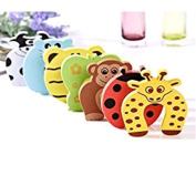 VWH 10pcs Door Stoppers Child Safety Animal Cushion Hinge Door Stop Pinch Finger Guard Security