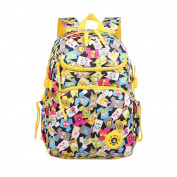 GudeHome Lightweight School Backpacks lovely Shoulder Backpack School Bags for Teen Girls- Colourful Clothes