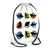 Shark Swim Bag, Boys Swimming Bags, Boys Sports Bag, Waterproof Swimming BAg, Large Swim Bags