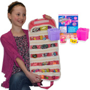 Shopkins Season 7 Blind Basket with EASYVIEW Compatible Toy Organiser Bundle