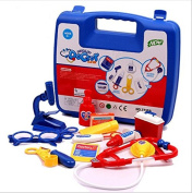 Blue Pretend & Play Doctor Set Doctor Medical Kits for kids Doctor Equipment in carrying case