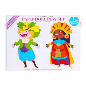 The Piggy Story Around the World Paper Doll Play Set