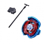 Top Beyblades High Performance Fight Master Beyblade Metal Fusion Beyblade Big Bang Pegasis (Cosmic Pegasus) F:D BLUE WING Version With Launcher Kids Toys