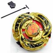 Beyblades High Performance Fight Master Mercury Brave Version Metal Fusion Beyblade DF105LRF Gyro toys 4D System + Luncher