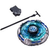 Beyblades High Performance Fight Master Mercury Brave Version Metal Fusion Beyblade BB-124 Gyro toys 4D System + Luncher