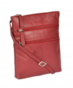 Ladies Real Leather Cross Body Messenger Shoulder Sling Bag Casual Travel HLG113