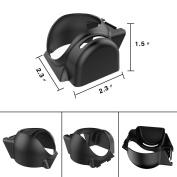 DJI Mavic Pro Accessories Bundle [3-PACK] Included Landing Gear with Landing Skid Pad, Mavic Lens Hood Sunshade, Remote Joystick Holder Bracket