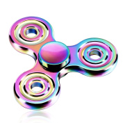 ATESSON Fidget Toy Spinner Ultra Durable Stainless Steel Bearing High Speed 3-5 Min Spins Precision Metal Material Hand Spinner EDC ADHD Focus Anxiety Stress Relief Boredom Killing Time Toys
