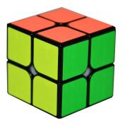 LIKIQ 2x2x2 Speed Cube Sticker Smooth Magic Cube Puzzles