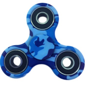 Wooce Camo Tri-Spinner Fidget Spinner Toy, High Speed Stainless Steel Bearing ADHD Focus Anxiety Relief Toys