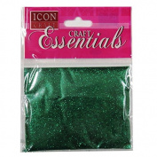 Icon Craft, Glitter Pack - Green - 25 Grammes